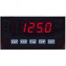 AC Voltage & Current Meter, Red Display, AC Powered