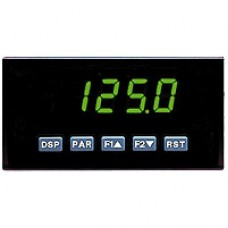 AC Voltage & Current Meter, Green Display, AC Powered