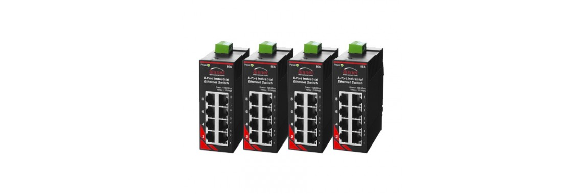 Red Lion Sixnet SL Series Unmanaged Ethernet Switches